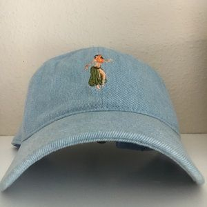 Other - Hula Girl Denim Dad Hat